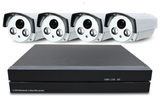 Уличный комплект видеонаблюдения 1080Р на 4 камеры