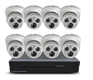 Внутрений комплект видеонаблюдения 720Р на 8 камер